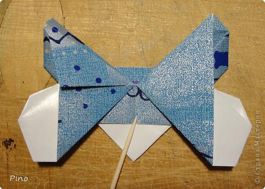 Эта бабочка из книги - Origami Butterflies - Michael G. LaFosse фото 20