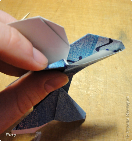 Эта бабочка из книги - Origami Butterflies - Michael G. LaFosse фото 21