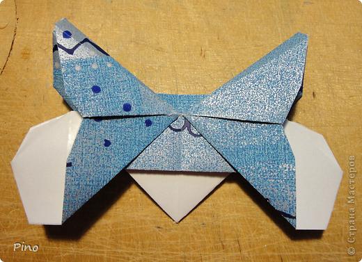Эта бабочка из книги - Origami Butterflies - Michael G. LaFosse фото 23