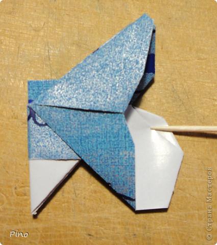 Эта бабочка из книги - Origami Butterflies - Michael G. LaFosse фото 24