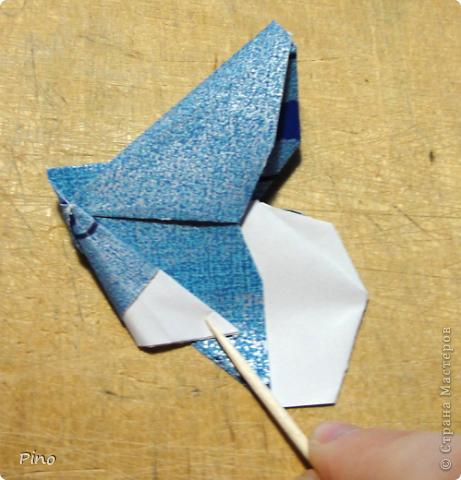 Эта бабочка из книги - Origami Butterflies - Michael G. LaFosse фото 25