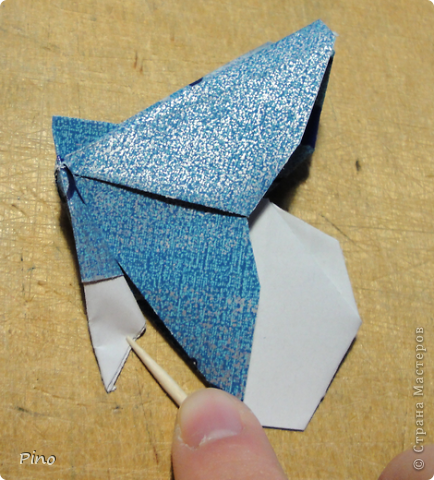 Эта бабочка из книги - Origami Butterflies - Michael G. LaFosse фото 26