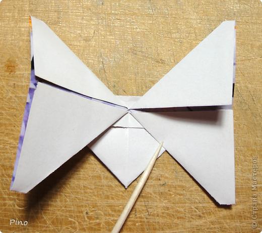 Эта бабочка из книги - Origami Butterflies - Michael G. LaFosse фото 32