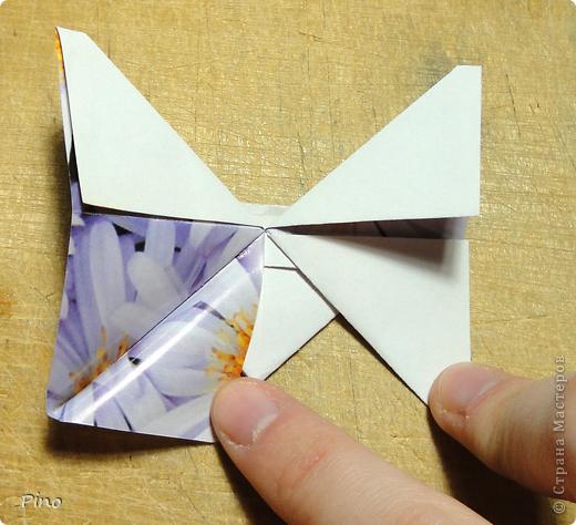 Эта бабочка из книги - Origami Butterflies - Michael G. LaFosse фото 33