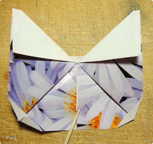 Эта бабочка из книги - Origami Butterflies - Michael G. LaFosse фото 34