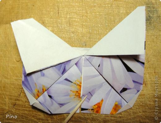 Эта бабочка из книги - Origami Butterflies - Michael G. LaFosse фото 35