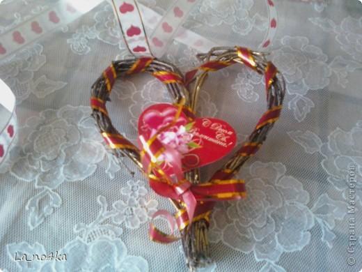 Сердечки выполнены в разных техниках (повторюшки) фото 6