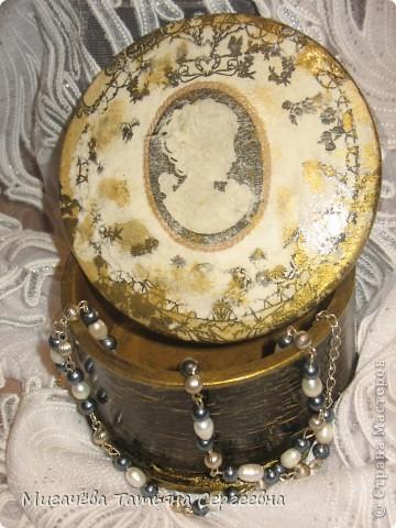 Кракелюрчик на шкатулке. фото 2