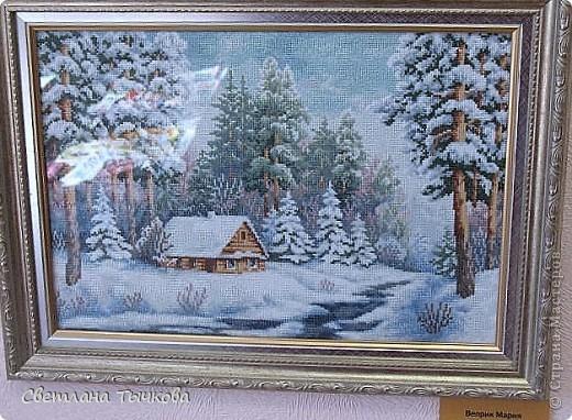 Работы не все на зимнюю тему.Но все удивительно красивы-вам должны понравиться.Моих здесь нет фото 13