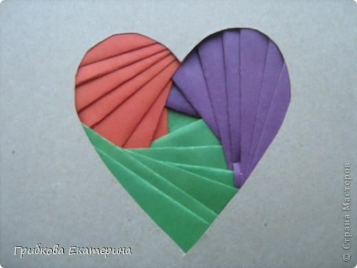 А вот такие валентинки мы сделали для родителей вместе с детьми на день Святого Валентина фото 1