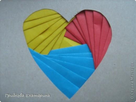А вот такие валентинки мы сделали для родителей вместе с детьми на день Святого Валентина фото 2