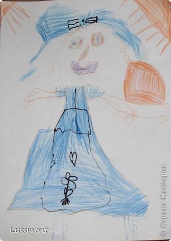 Автор этих рисунков моя дочь Катя. Ей сейчас 5,5 лет.  фото 3