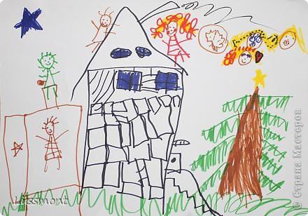 Автор этих рисунков моя дочь Катя. Ей сейчас 5,5 лет.  фото 6
