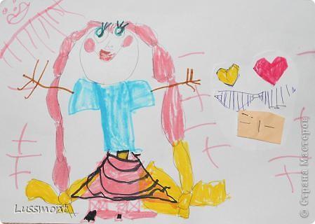Автор этих рисунков моя дочь Катя. Ей сейчас 5,5 лет.  фото 8