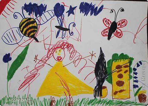 Автор этих рисунков моя дочь Катя. Ей сейчас 5,5 лет.  фото 1