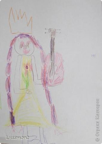 Автор этих рисунков моя дочь Катя. Ей сейчас 5,5 лет.  фото 9