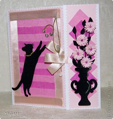 Говорят, что розовый цвет - это цвет радости, надежды, влюбленности, умиротворенности. Он несет в себе положительные эмоции и позитивный настрой. И еще это - женский цвет А черный... для меня это цвет - таинственность, цвет-загадка, цвет-магия... Чем не еще один женский цвет?! фото 5