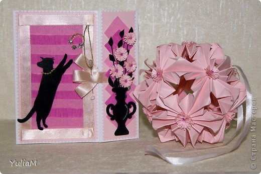 Говорят, что розовый цвет - это цвет радости, надежды, влюбленности, умиротворенности. Он несет в себе положительные эмоции и позитивный настрой. И еще это - женский цвет А черный... для меня это цвет - таинственность, цвет-загадка, цвет-магия... Чем не еще один женский цвет?! фото 1