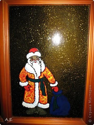 Снеговик на окне фото 6