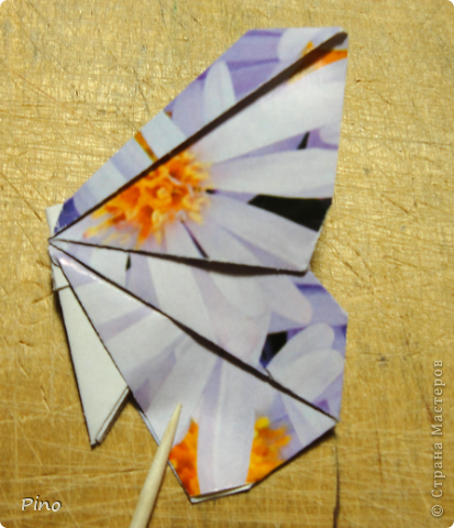 Эта бабочка из книги - Origami Butterflies - Michael G. LaFosse фото 42