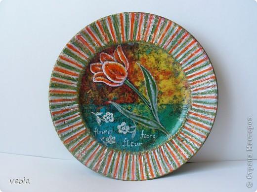декупажистые тарелки фото 2