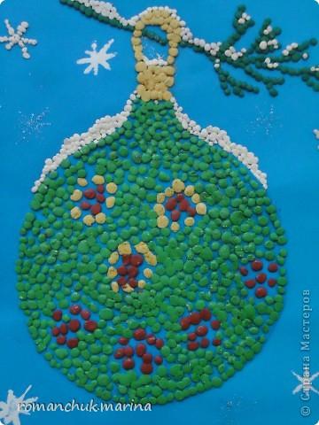 Вот такие новогодние поделки сделали воспитанники нашего детского дома совместно с воспитателями. фото 3