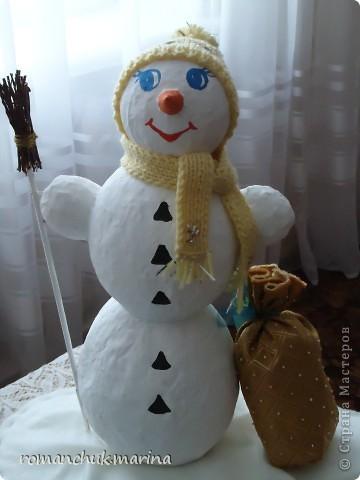 Вот такие новогодние поделки сделали воспитанники нашего детского дома совместно с воспитателями. фото 6