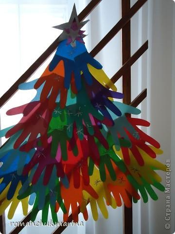 Вот такие новогодние поделки сделали воспитанники нашего детского дома совместно с воспитателями. фото 7