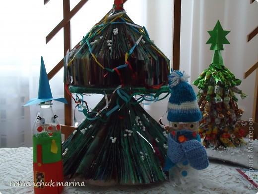 Вот такие новогодние поделки сделали воспитанники нашего детского дома совместно с воспитателями. фото 12