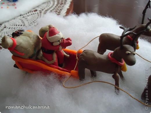 Вот такие новогодние поделки сделали воспитанники нашего детского дома совместно с воспитателями. фото 14