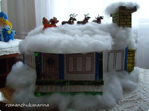 Вот такие новогодние поделки сделали воспитанники нашего детского дома совместно с воспитателями. фото 16