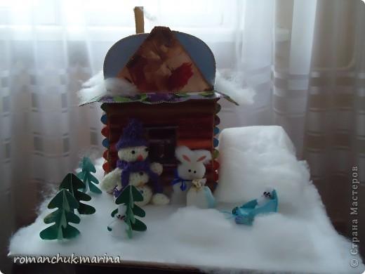 Вот такие новогодние поделки сделали воспитанники нашего детского дома совместно с воспитателями. фото 19