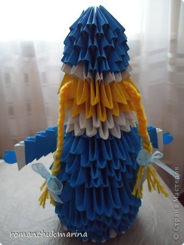 Вот такие новогодние поделки сделали воспитанники нашего детского дома совместно с воспитателями. фото 24