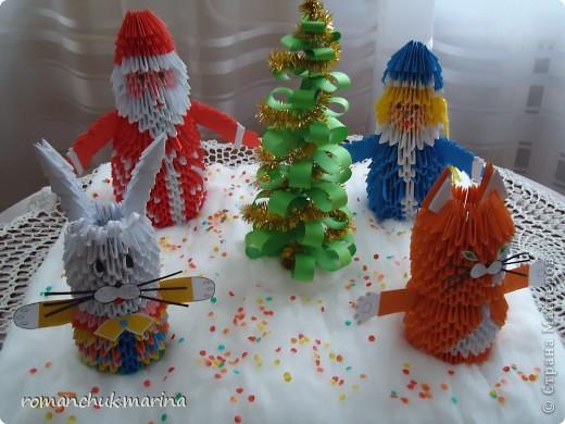 Вот такие новогодние поделки сделали воспитанники нашего детского дома совместно с воспитателями. фото 28