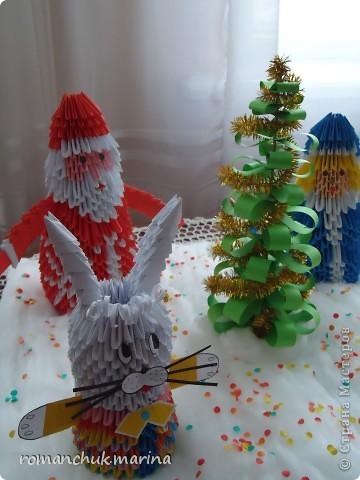 Вот такие новогодние поделки сделали воспитанники нашего детского дома совместно с воспитателями. фото 26