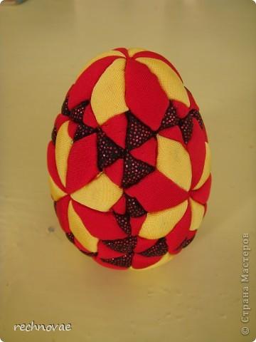 """Пасхальное яйцо сорокаклинка (рисунок """"Рождественская звезда"""") фото 2"""