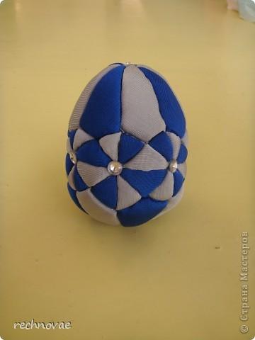 """Пасхальное яйцо сорокаклинка (рисунок """"Рождественская звезда"""") фото 3"""