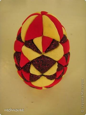 """Пасхальное яйцо сорокаклинка (рисунок """"Рождественская звезда"""") фото 4"""