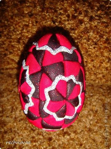 """Пасхальное яйцо сорокаклинка (рисунок """"Рождественская звезда"""") фото 1"""