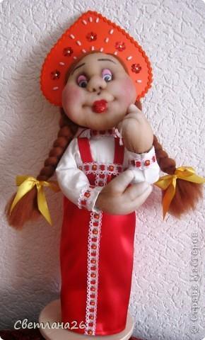 Вот и родились мои две новых куклы, которые я сделала в ходе проведения своего МК. фото 3