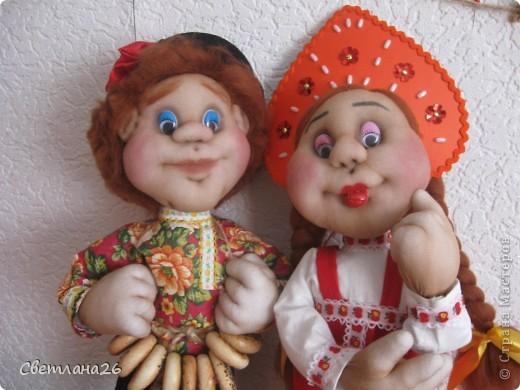 Вот и родились мои две новых куклы, которые я сделала в ходе проведения своего МК. фото 2