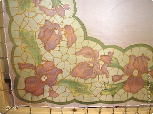 Цикламен. Снимок на рабочей раме. Этот батик живет в хорошем доме в Новосибирске. фото 5