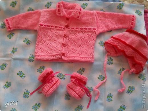 костюмчик для девочки 0-3 мес. фото 1