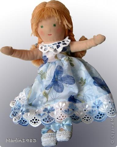 Вальдорфская куколка Лили.