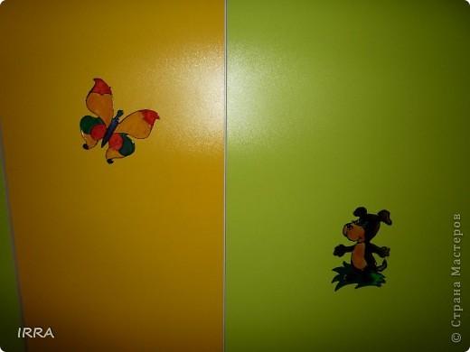 Украшаем шкафы фото 6