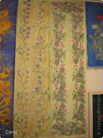 Цикламен. Снимок на рабочей раме. Этот батик живет в хорошем доме в Новосибирске. фото 15