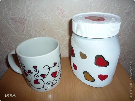 Чайный набор на Валентинов день