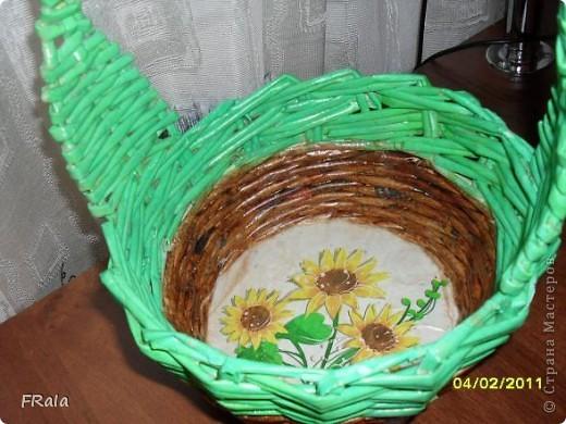 подсолнуховая корзинка фото 1