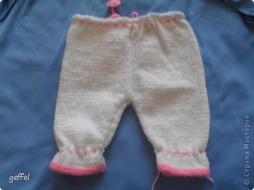Штанишки с кармашком для девочки фото 2