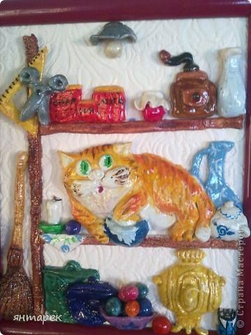 Котик по рисунку А.Долотова фото 1